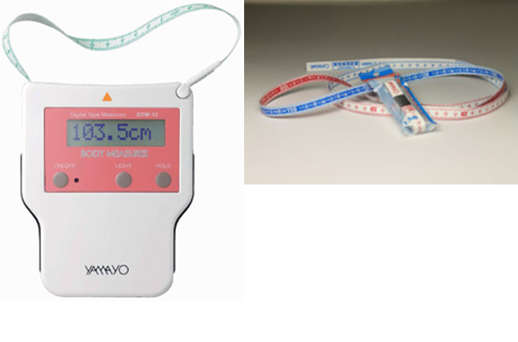 Yamayo Measuring Tools : Yamayo digital body measure kouei japan